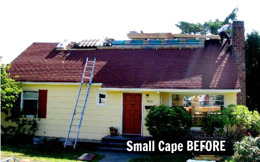 Before After A Cozy Cape Cod Gets Makeover