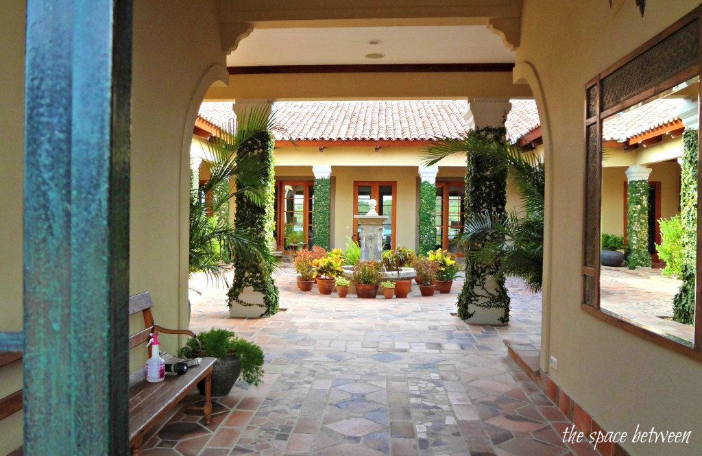 Caracao house from the bachelorette courtyard hooked on Spanish style house plans with central courtyard