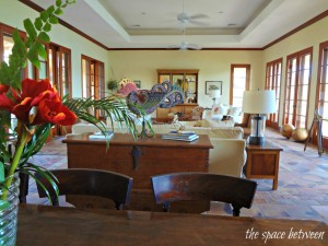 Caracao house from The Bachelorette-living room