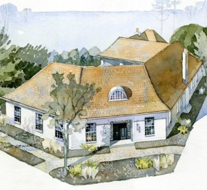 Coastal Living Ultimate Beach House Rosemary Beach 2012 illustration