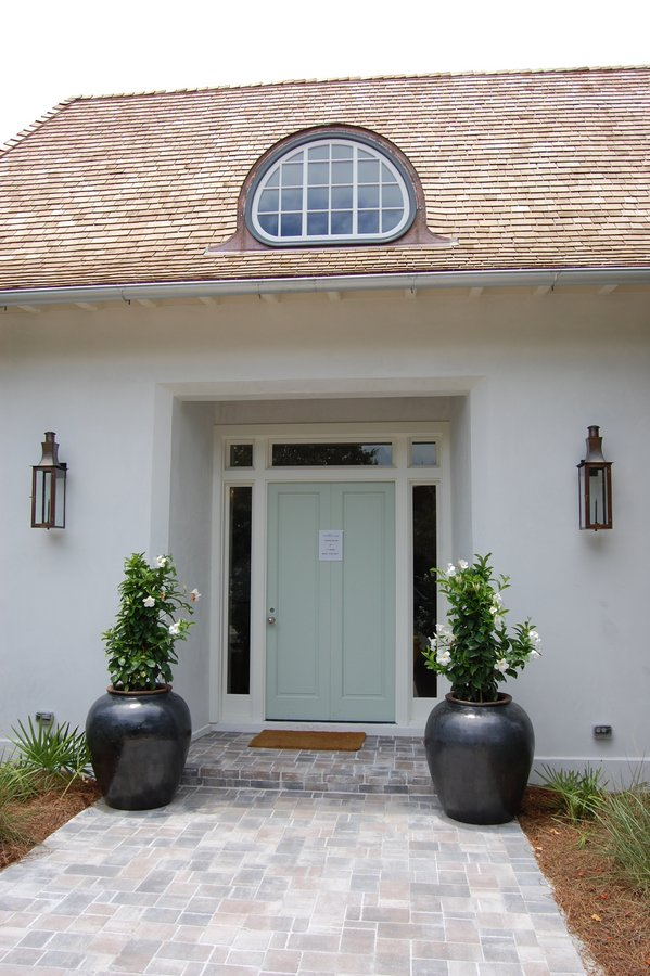 Coastal living ultimate beach house front door exterior hooked on houses for Coastal living exterior house colors