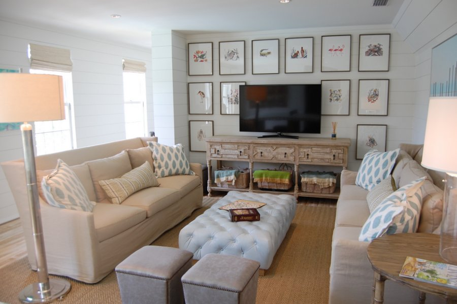 coastal living room. Coastal Living Ultimate Beach House game room  Hooked on Houses