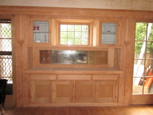 Laurelhurst 1912 Craftsman dining room during