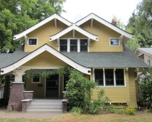 Laurelhurst 1912 Craftsman exterior after reno