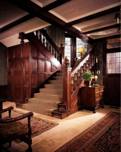 Sagee Manor-foyer and staircase