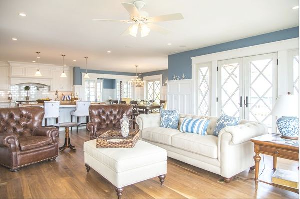 A victorian beach house in ocean city hooked on houses for Victorian beach house designs