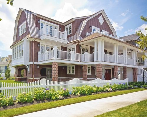 A victorian beach house in ocean city new jersey for Custom victorian homes