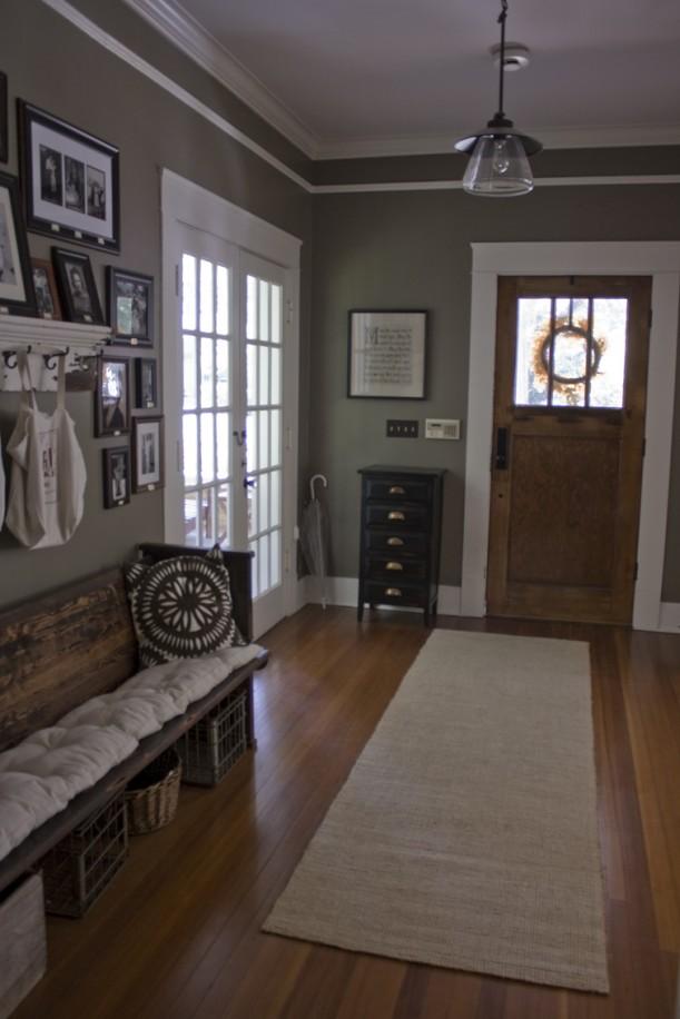 Foyer Ideas Craftsman : Erin s craftsman cottage in laurel mississippi