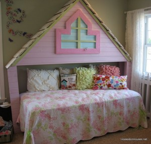 Fischer Wheatland model girl's play bed