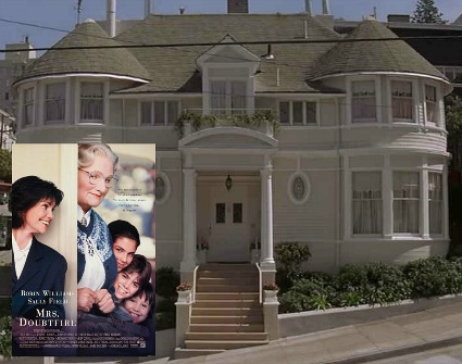 Mrs. Doubtfire movie house in San Francisco