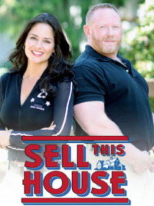 Tanya Memme and Roger Hazard in promotional photo for Sell This House