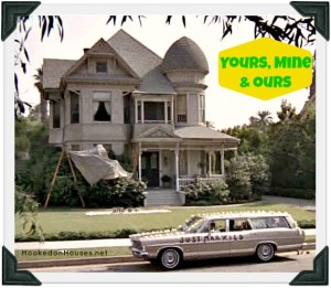 Yours Mine & Ours movie 1968 Victorian house cover