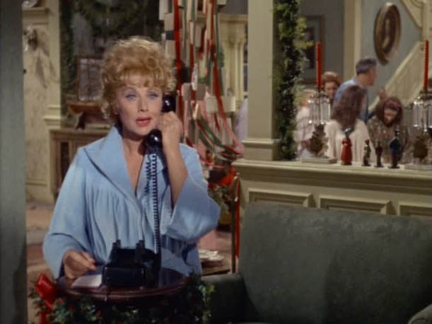 Lucille Ball on the telephone