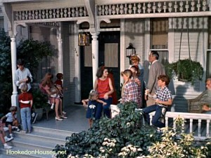 Yours Mine & Ours movie house front porch 2