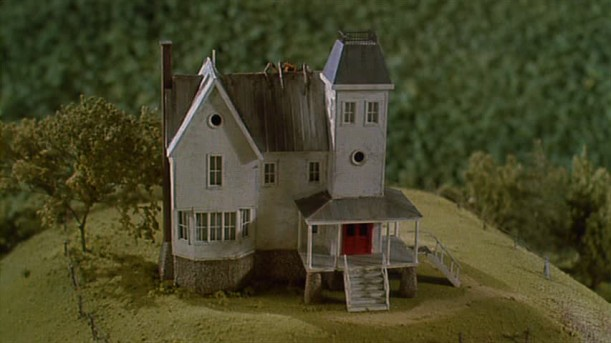 small model of Beetlejuice house
