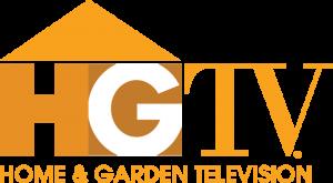 HGTV Home & Garden Television logo-gold