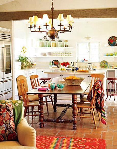 Kathryn Ireland Ojai Ranch House Beautiful Kitchen