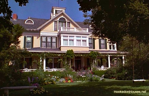 exterior of Miss Honey\'s house after it was restored and remodeled