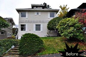 Mount Baker Seattle Bungalow before reno
