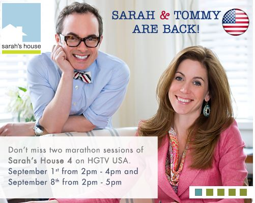 promotional still with photo of Tommy and Sarah announcing upcoming episodes