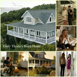 Emily Thorne's Beach House on Revenge collage cvr