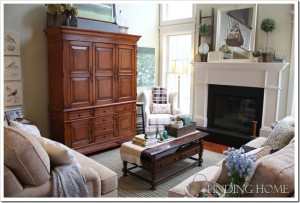 Finding Home-Laura's family room