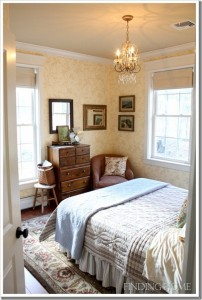 Finding Home-Laura's guest room