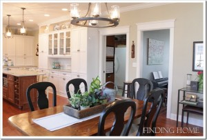 Finding Home-Laura's kitchen table