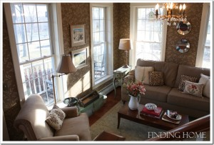 Finding Home-Laura's living room