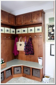 Finding Home-Laura's mudroom