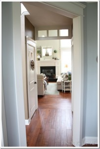 Finding Home-hallway with transom