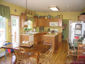 Finding Home-kitchen before reno