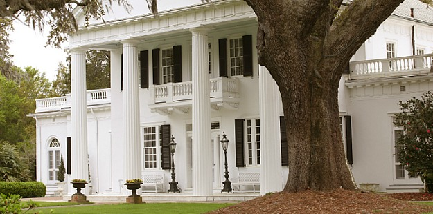 jodie riveras southern federal style house - Southern Style Houses