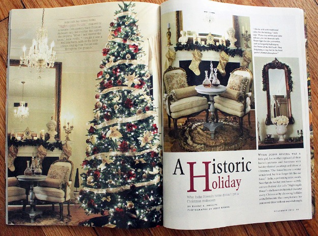 Jodie\'s house featured in Romantic Homes magazine