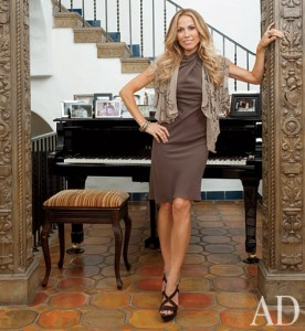 Sheryl Crow in Architectural Digest March 11