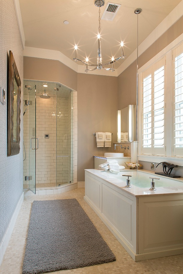 Westchester magazine 39 s american dream home bathroom for Show home bathrooms