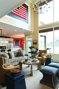 Westchester Magazine's American Dream Home-family rm