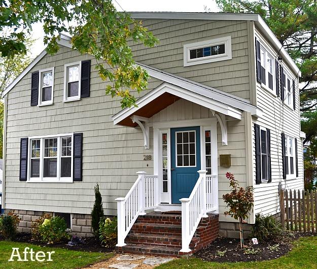 Laurel 39 S Blah Brown House Gets Curb Appeal Hooked On Houses