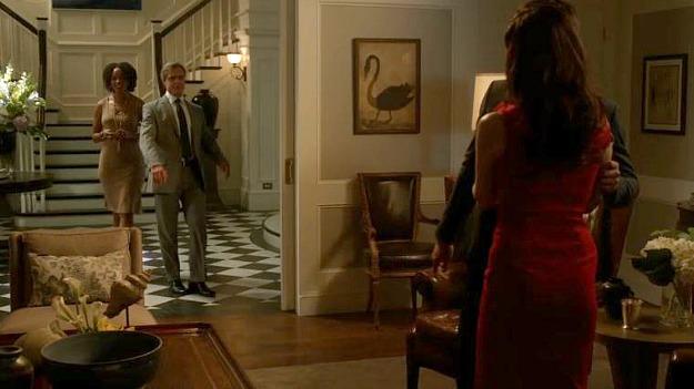 Conrad Grayson walking into living room