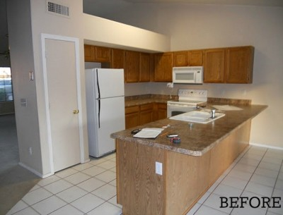"Before & After: Amanda's ""Empty Nest"" Kitchen in Arizona"