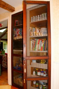 General Store doors used as pantry-new