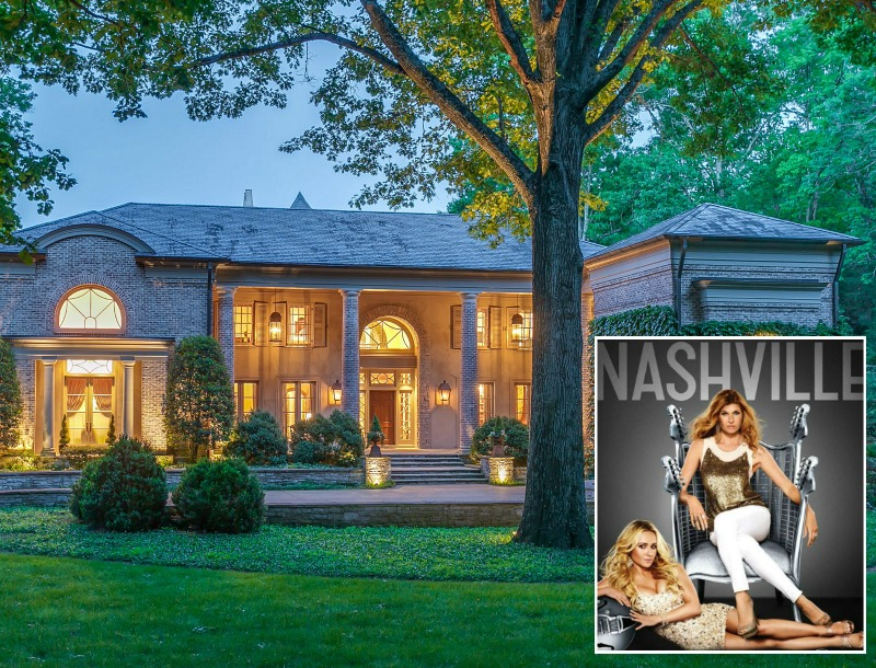 Inside Rayna S Country Music Mansion From The Tv Show Nashville