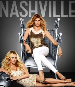 Nashville TV drama ABC Connie Britton Hayden Panettiere poster
