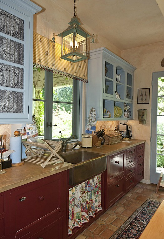 Penelope Bianchi 39 S Romantic Kitchen In California Hooked