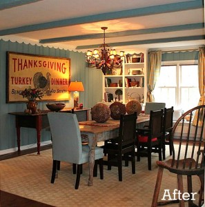 Renita's dining room after remodel