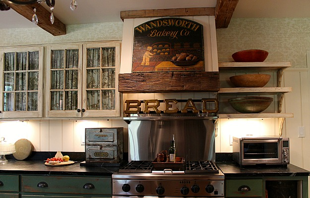 Renita's new vintage kitchen