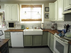 Rosie's remodeled kitchen 1