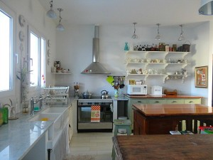 Silvina's kitchen wide shot