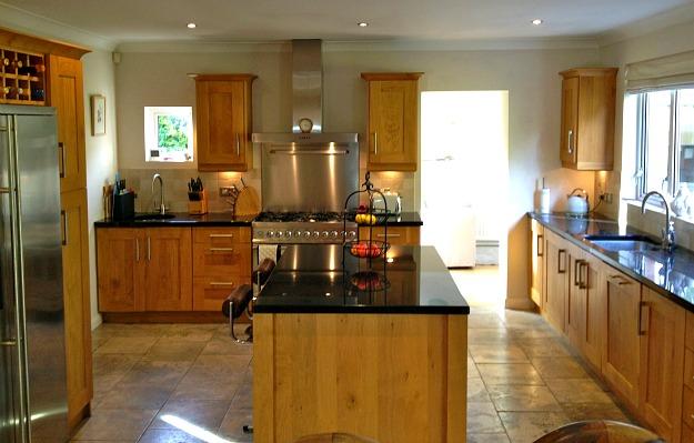 Modern Wood Kitchen simon's modern wood kitchen - hooked on houses