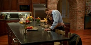 Teddy and Rayna in the kitchen on Nashville 2